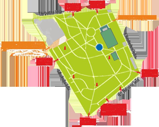 Карта рижского пивного фестиваля 2012