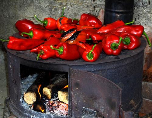 Болгарский печеный перец