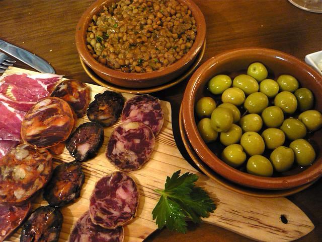 Испанское блюдо — Тапас (tapas)