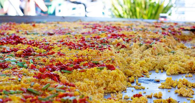 Испанское блюдо — паэлья (paella)