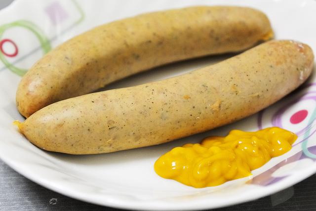 Баварская белая колбаса