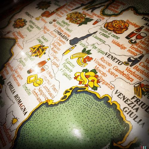 Север Италии (Ломбардия, Пьемонт, Эмилия Романья, Венето, Лигурия)