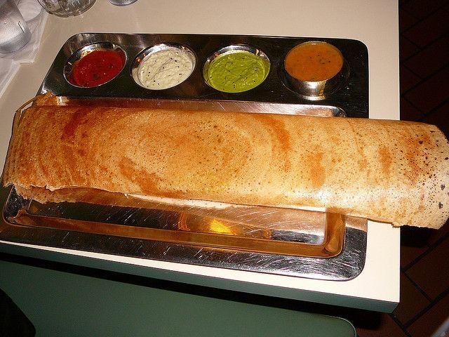 Индийское блюдо — Масала доса