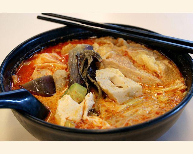 Малайзийское блюдо — Карри лакса