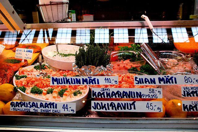 Рынок в Финляндии