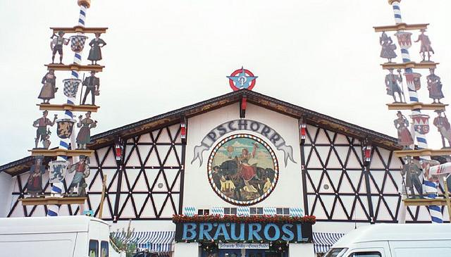 Палатка на Октоберфест — Bräurosl Hacker Pschorr