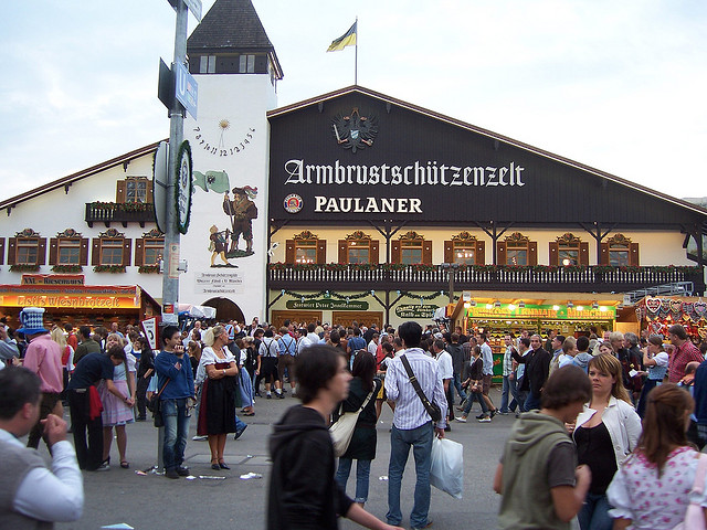 Палатка на Октоберфест — Armbrustschützen Zelt