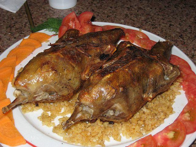 Египетское блюдо — Махши (фаршированный голубь)