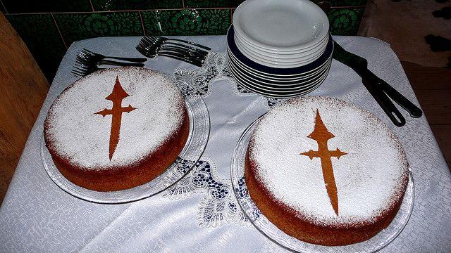Испанский миндальный пирог — тарта де альмендрас (tarta de almendras)