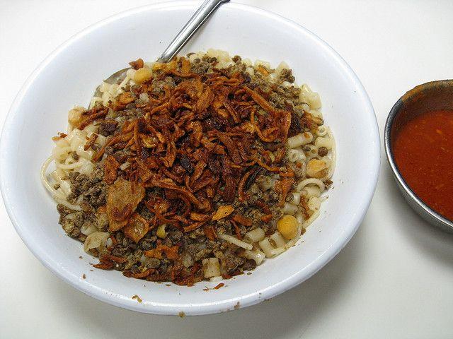 Египетское блюдо - Кушари