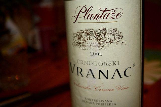 Черногорское вино - Vranac