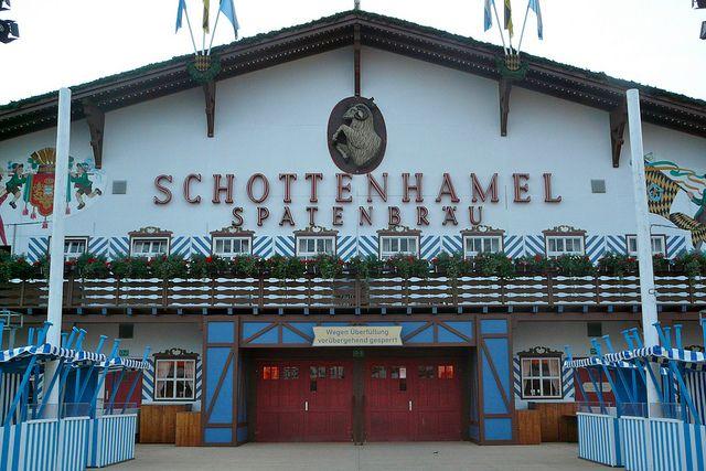 Пивная палатка на Октоберфест — Schottenhamel