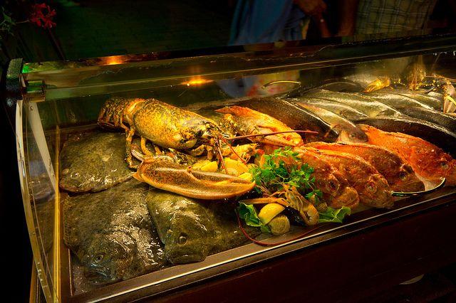 Хорватское разнообразие морепродуктов