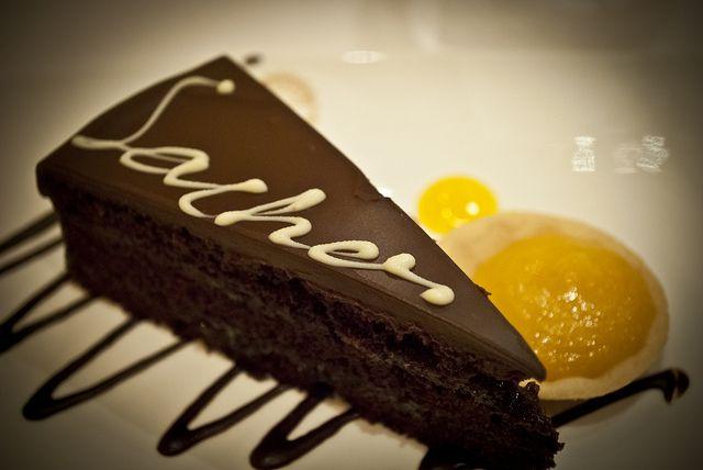 Австрийский торт — Захер (sacher)
