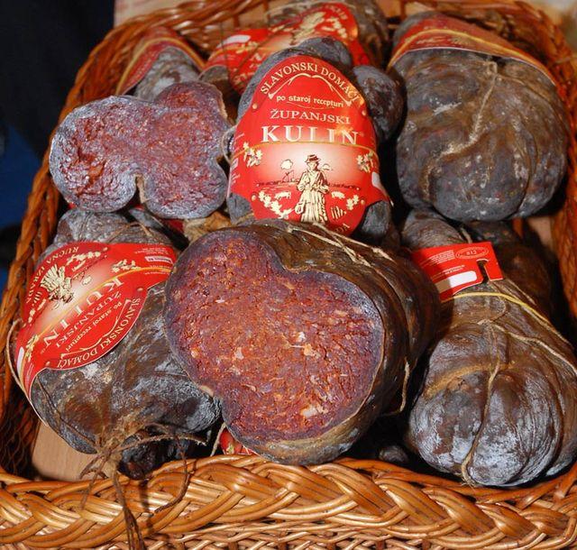 Хорватская колбаса — Кулен (kulen)