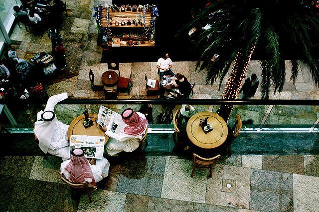 Кофейня в ОАЭ