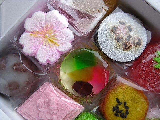 Японские сладости — Вагаси