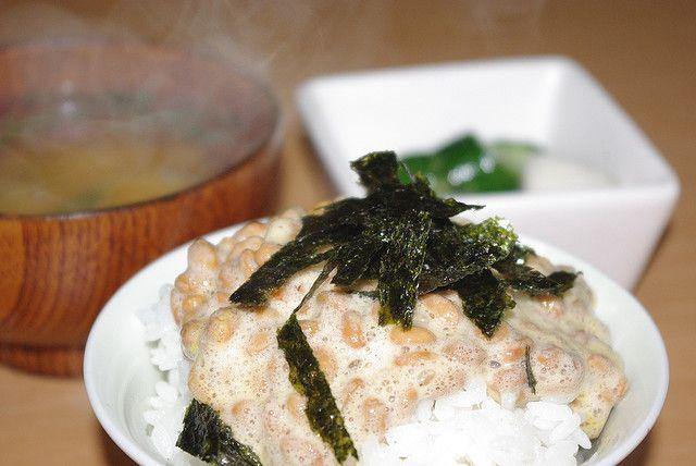 Японское блюдо — Натто