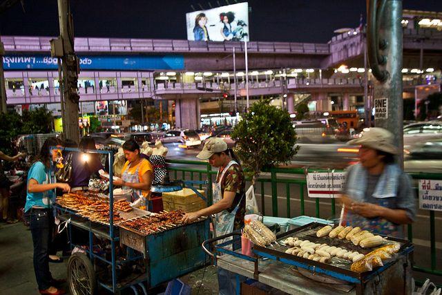 Стрит-фуд в Тайланде