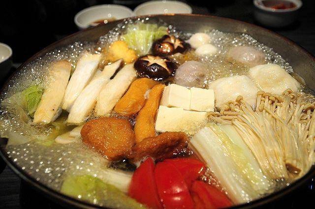Японская еда — набэмоно