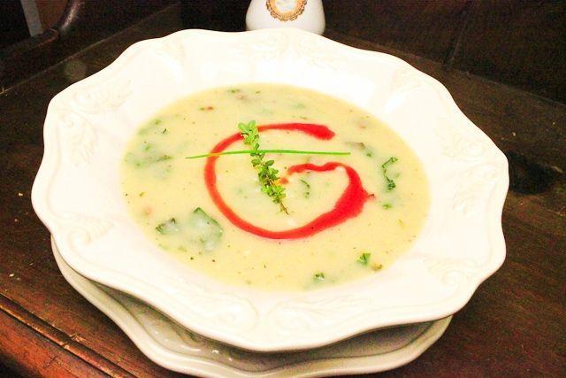 Традиционный португальский суп - Калду Верде (Caldo Verde)