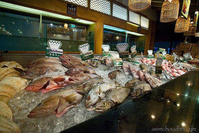 Ресторан с морепродуктами в ОАЭ