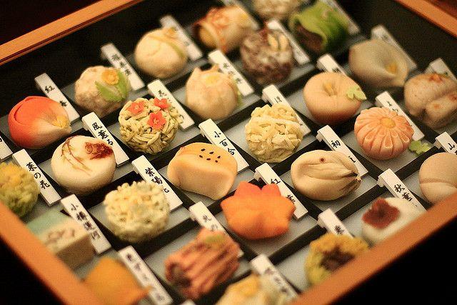 Японские десерты — Вагаси