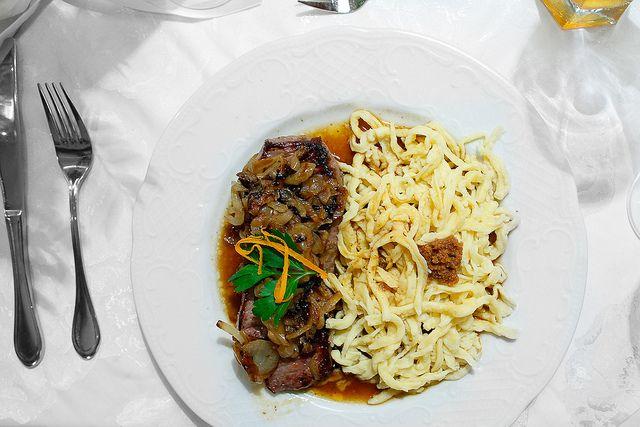 Мучные клецки - шпецле (Spaetzle)