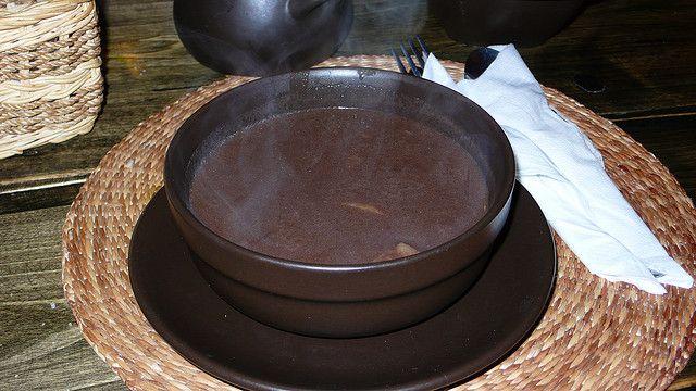 Суп из гусиной крови — Чернина (czernina)