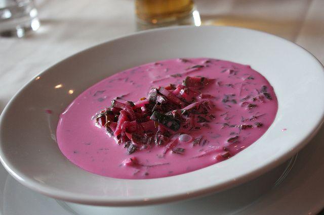 Польский холодный суп — Холодник (chlodnik)