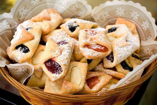 Польское печенье с джемом — Kolaczki