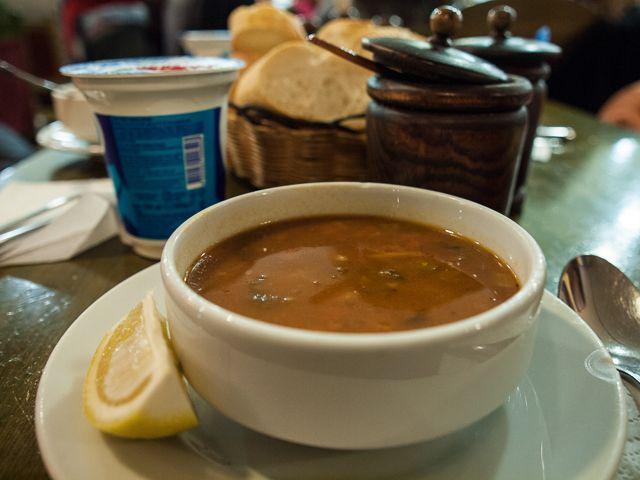 Крестьянский суп в Стамбуле