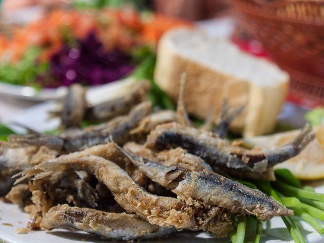 Стамбульское рыбное блюдо — хамси