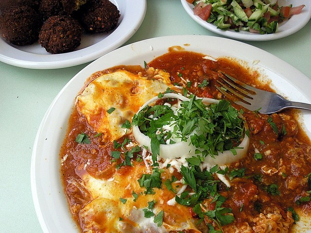 Блюдо из яиц — Шакшука