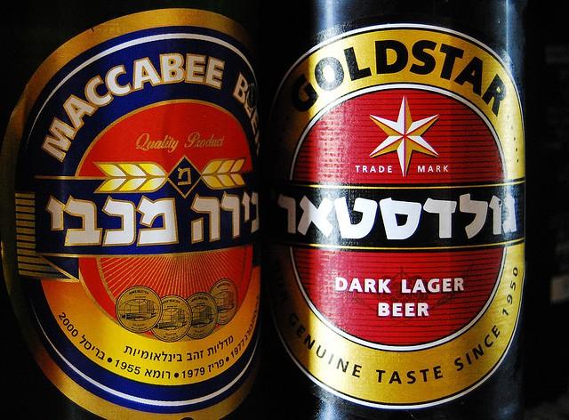 Израильское пиво — Maccabee и Goldstar