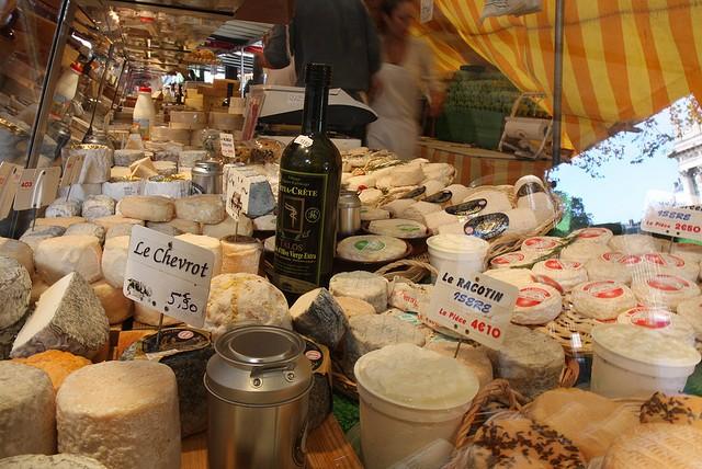 Рынок Marché Président Wilson в Париже