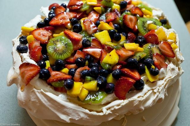 Торт — павлова