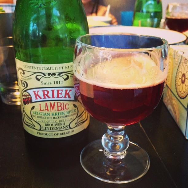 Бельгийское пиво ламбик — Крик (Kriek)