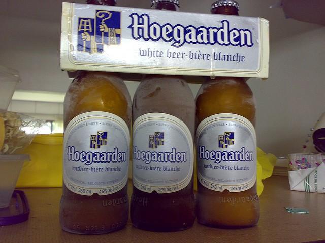 Бельгийское белое пиво — Hoegaarden