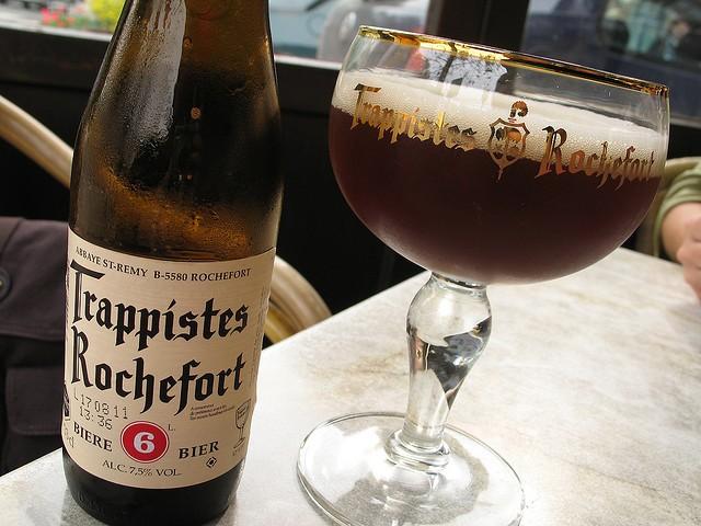 Бельгийской пиво — Trappiste Rochefort