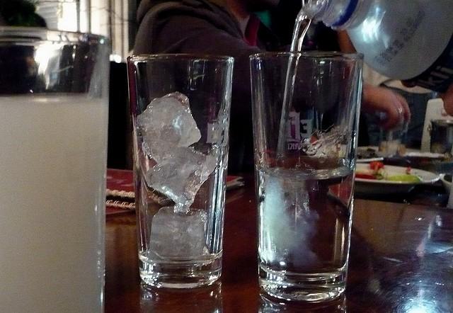 Турецкая раки с водой