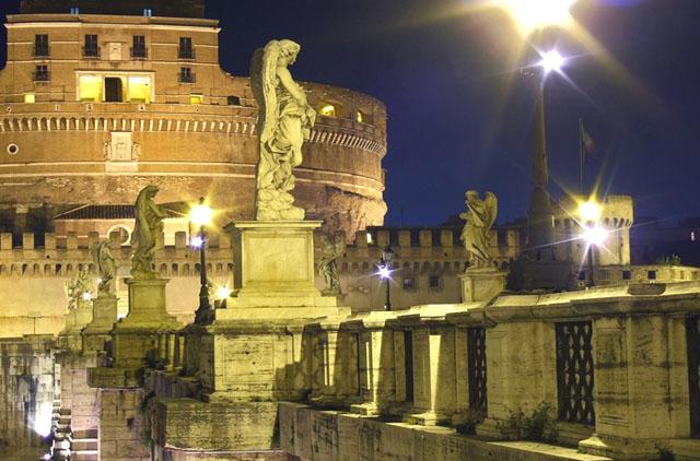 Кастель Сант-Анджело. Рим