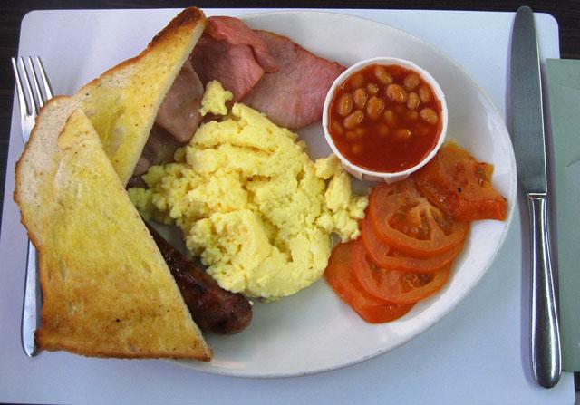 Классический британский завтрак