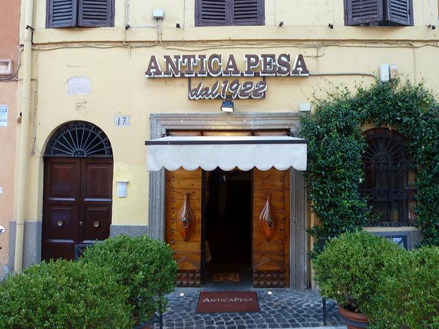 Ресторан Antica Pesa