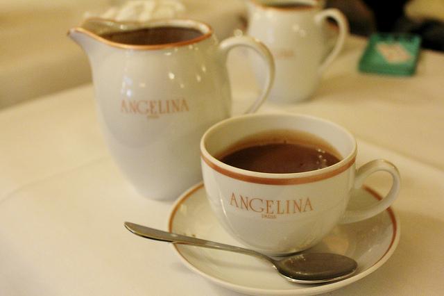 Angelina chocolat chaud