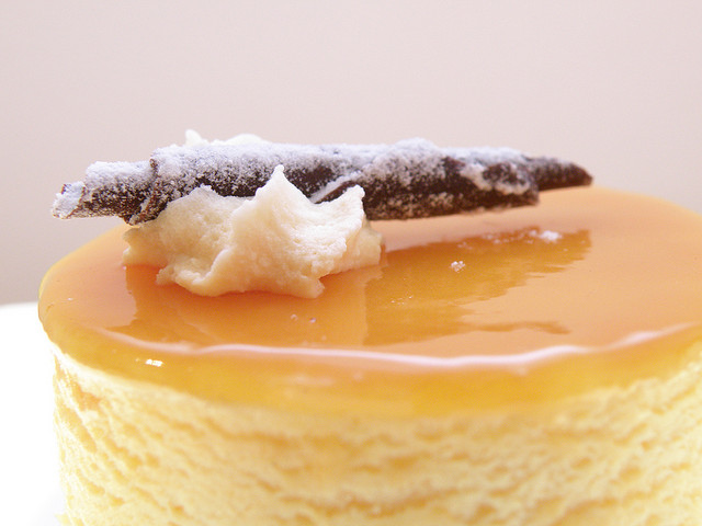 Десерт crema catalana