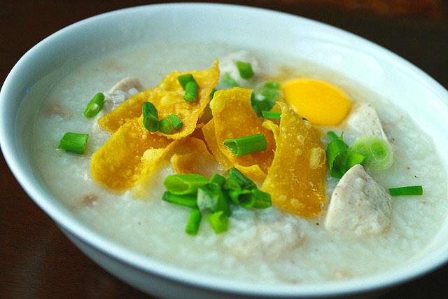 Рисовый суп Congee
