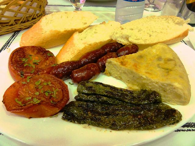 Завтрак каталонца