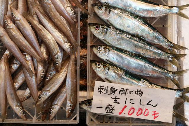Мелкая рыбка