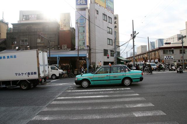 Рынок морепродуктов в Цукидзи, Токио